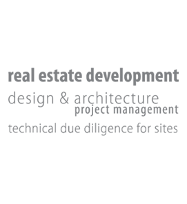 real estate development, design and architecture project management